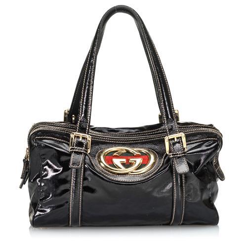 Gucci Britt Small Boston Handbag