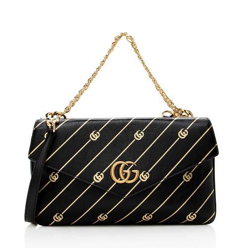 Gucci Calfskin Thiara Double Shoulder Bag