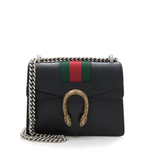 Gucci Calfskin Web Dionysus Mini Bag