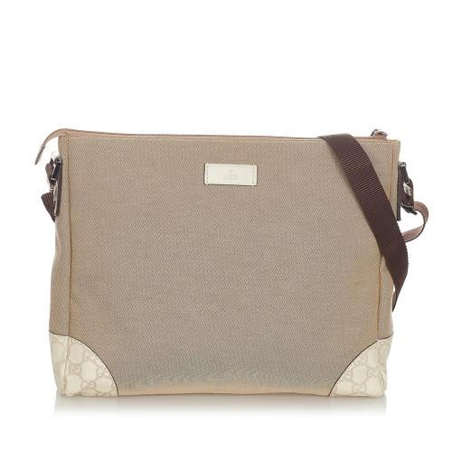Gucci Canvas Crossbody Bag