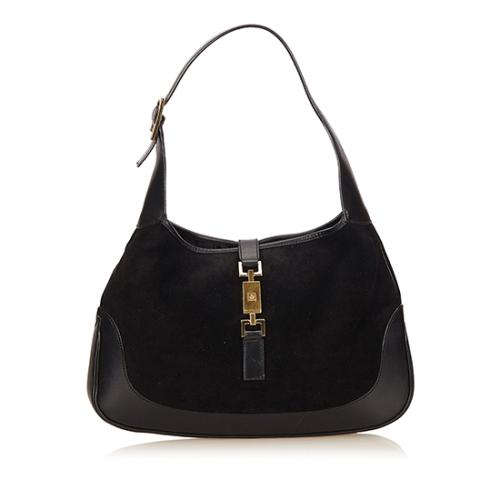 Gucci Suede Leather Jackie Hobo