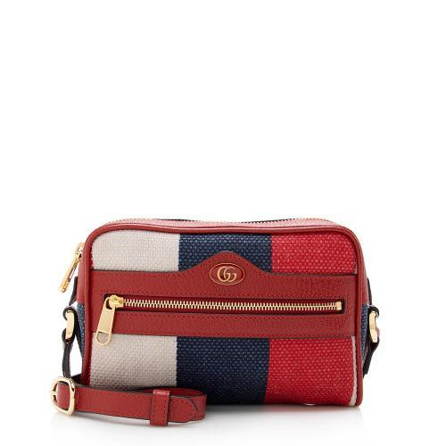 Gucci Canvas Ophidia Mini Crossbody Bag