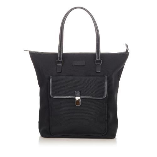 Gucci Canvas Tote Bag
