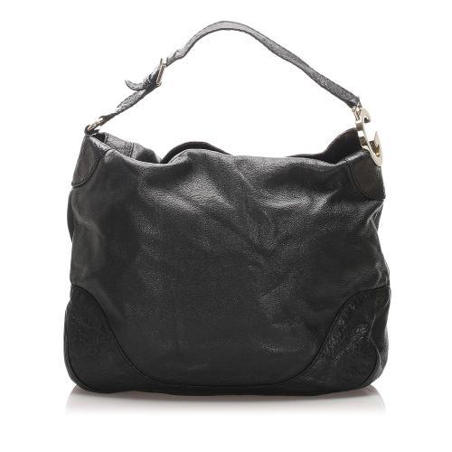 Gucci Leather Charlotte Tote