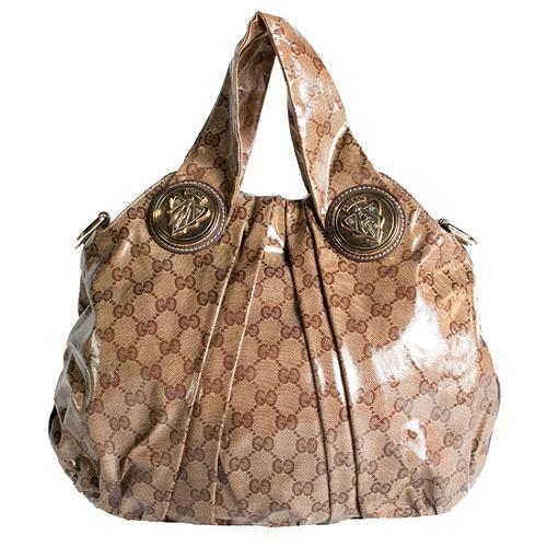 Gucci Crystal GG Hysteria Medium Top Handle Tote