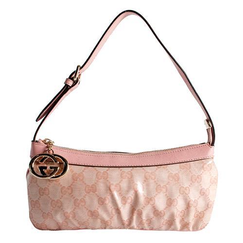 Gucci Crystal GG Shoulder Handbag