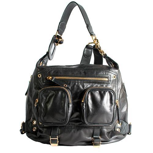 Gucci Darwin Medium Leather Backpack
