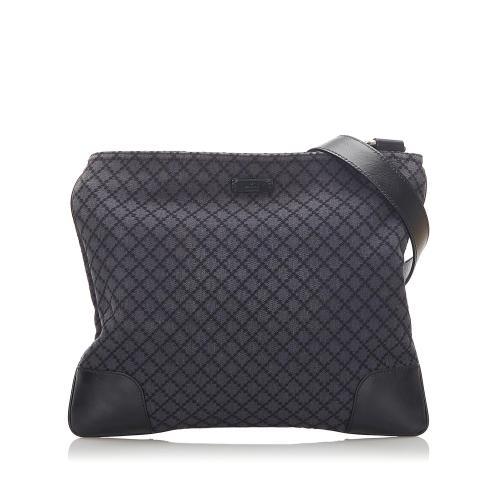 Gucci Diamante Canvas Crossbody Bag