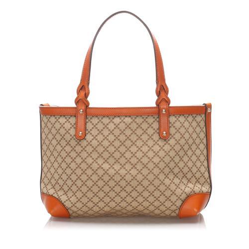 Gucci Diamante Craft Tote Bag