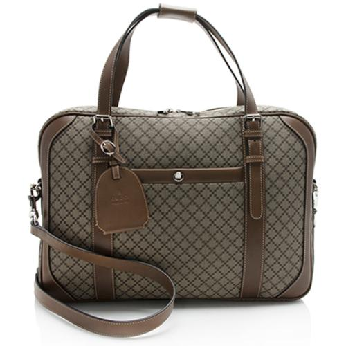 Gucci Diamante Leather Briefcase - FINAL SALE