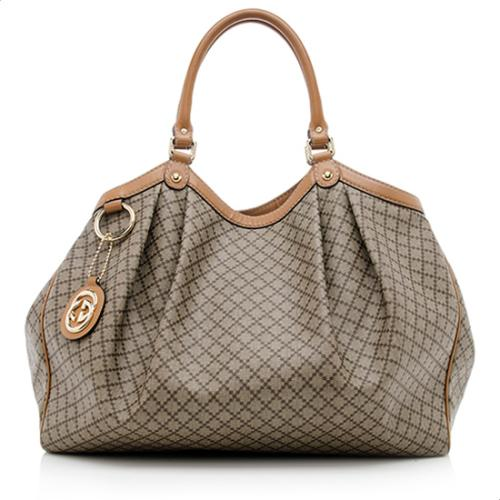 Gucci Diamante Sukey Large Tote