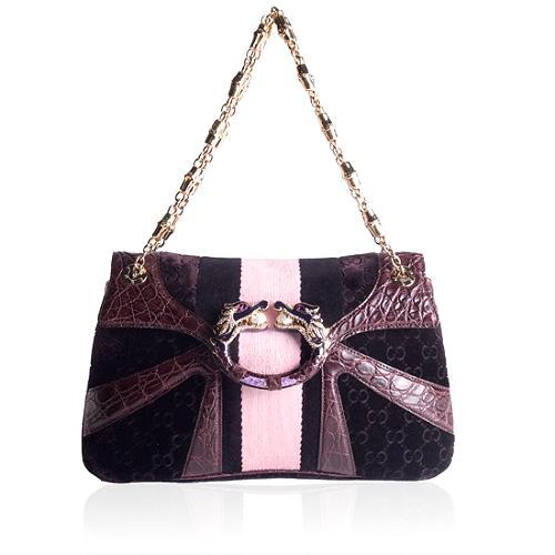 Gucci Dragon Bamboo Chain Shoudler Handbag