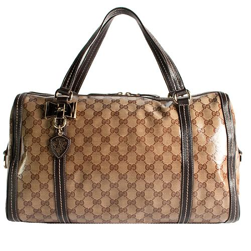 Gucci Duchessa Large Boston Satchel Handbag