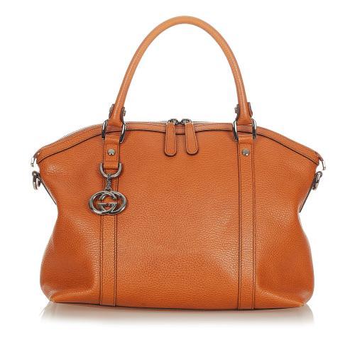 Gucci Duchessa Leather Satchel