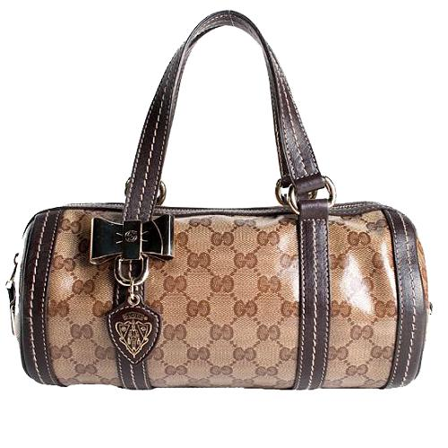 Gucci Duchessa Small Boston Satchel Handbag