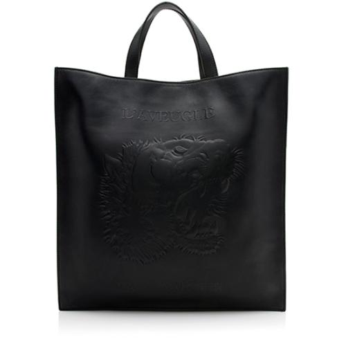 Gucci Embossed Leather L'Aveugle par Amour Tote