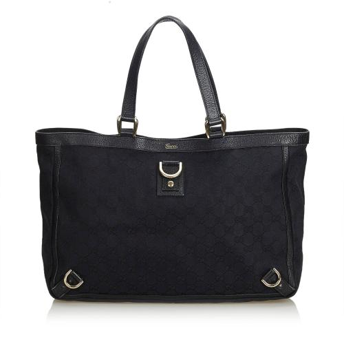 Gucci GG Canvas Abbey D Ring Tote