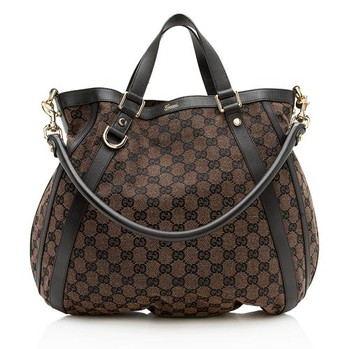 Gucci GG Canvas Abbey Convertible Tote