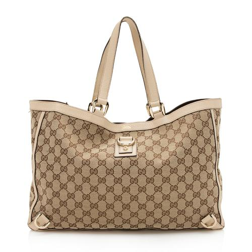Gucci GG Canvas Abbey Large Tote