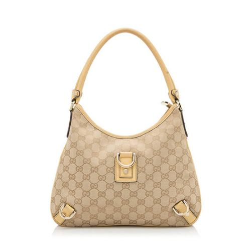 Gucci GG Canvas Abbey Medium Hobo