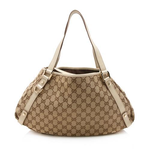 Gucci GG Canvas Abbey Medium Shoulder Bag