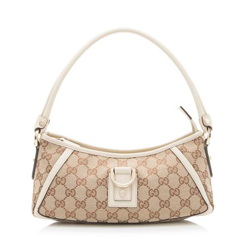 Gucci GG Canvas Abbey Small Shoulder Bag