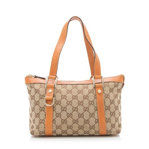 Gucci GG Canvas Abbey Small Tote