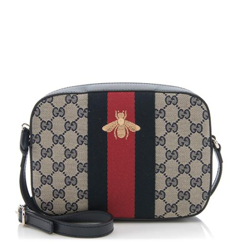 Gucci GG Original Bee Web Shoulder Bag