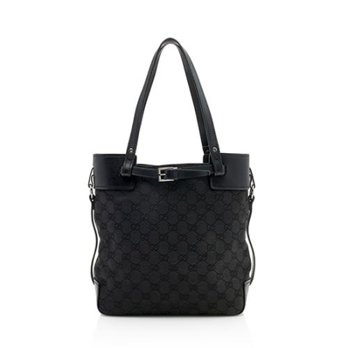 Gucci GG Canvas Belted Tote - FINAL SALE