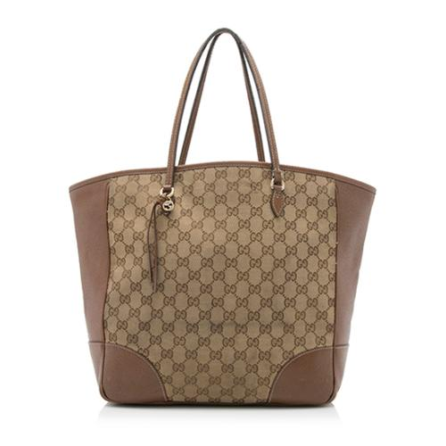 Gucci GG Canvas Bree Medium Tote - FINAL SALE
