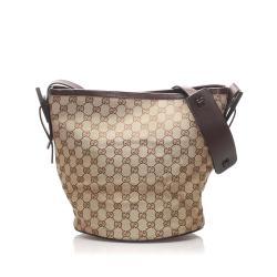 Gucci GG Canvas Bucket Bag