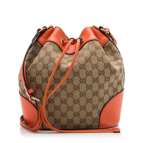 Gucci GG Canvas Bucket Bag