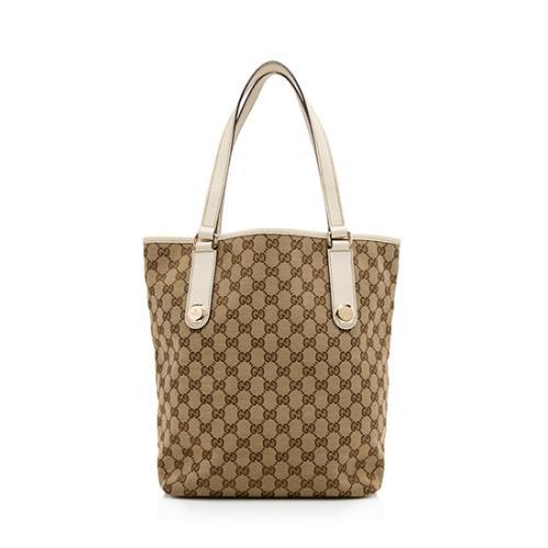 Gucci GG Canvas Charmy Shopper Tote