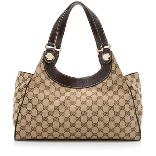 e9a43646e0e Gucci GG Canvas Charmy Shoulder Bag
