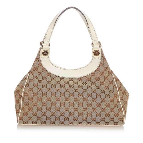 Gucci GG Canvas Charmy Shoulder Bag