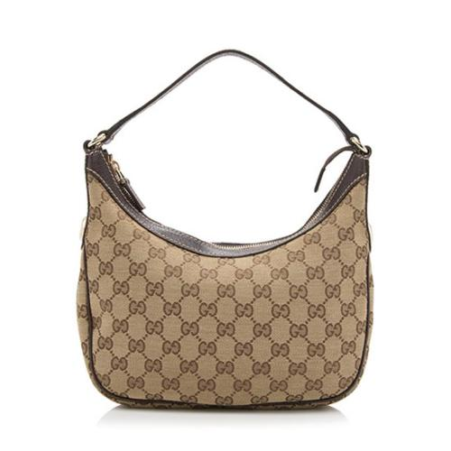Gucci GG Canvas Charmy Small Hobo