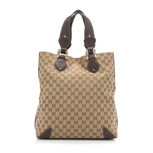 Gucci GG Canvas Creole Large Tote