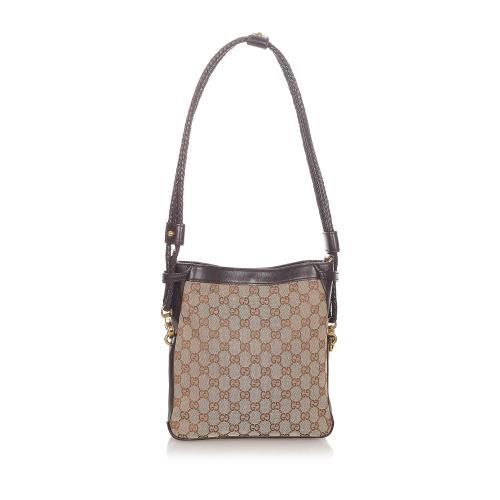 Gucci GG Canvas Crossbody Bag