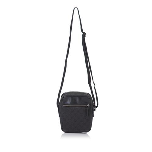 Gucci GG Denim Crossbody Bag