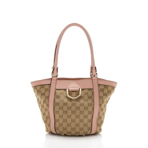 Gucci GG Canvas D-Ring Tote