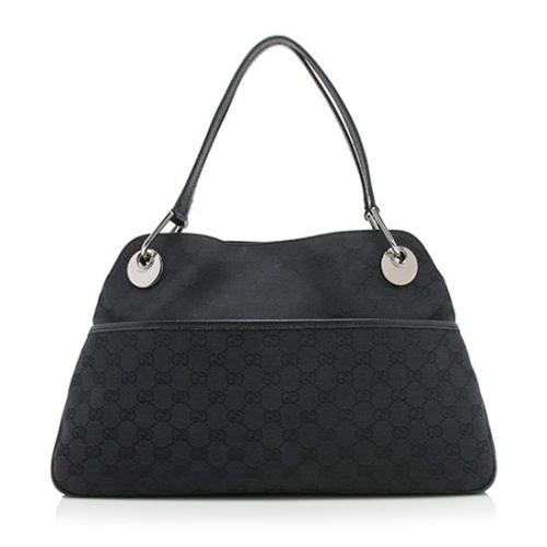 Gucci GG Canvas Eclipse Medium Shoulder Bag