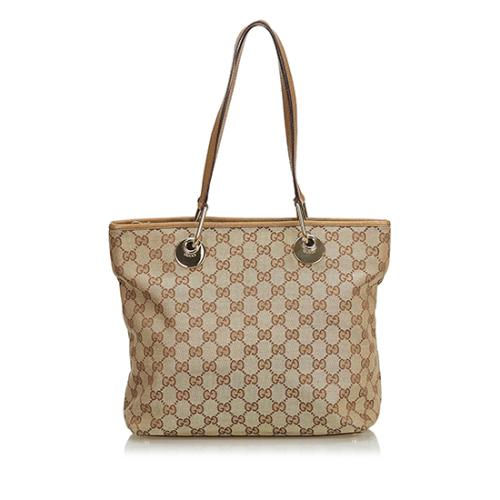 Gucci GG Canvas Eclipse Medium Tote