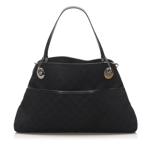Gucci GG Canvas Eclipse Shoulder Bag