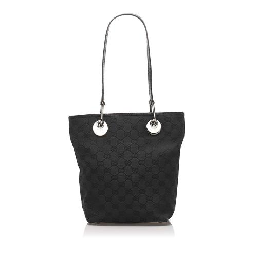 Gucci GG Canvas Eclipse Tote Bag