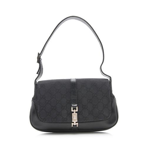 Gucci GG Canvas Flap Shoulder Bag