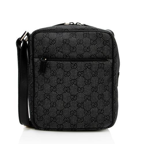 Gucci GG Canvas Flight Crossbody Bag