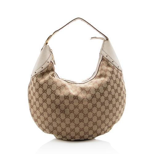 Gucci GG Canvas Glam Hobo
