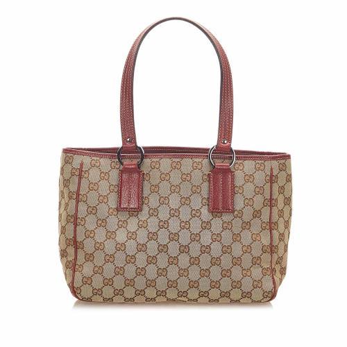 Gucci GG Canvas Handbag