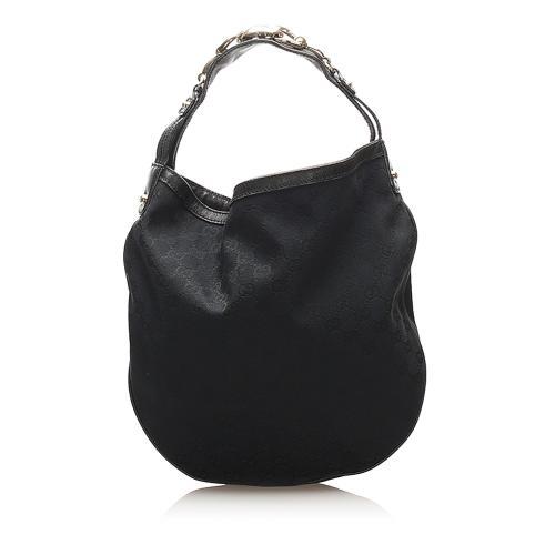 Gucci GG Canvas Hobo Bag
