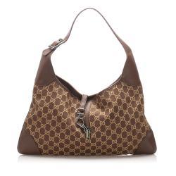 Gucci GG Canvas Jackie Shoulder Bag
